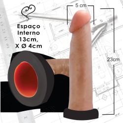 Pênis Silicone Macío